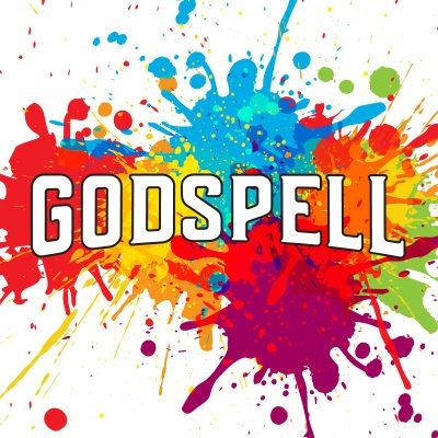 Godspell cover logo